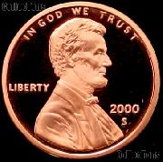 2000-S Lincoln Memorial Penny Lincoln Cent Gem PROOF RED Penny