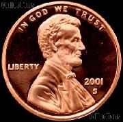 2001-S Lincoln Memorial Penny Lincoln Cent Gem PROOF RED Penny