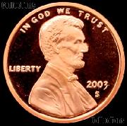 2003-S Lincoln Memorial Penny Lincoln Cent Gem PROOF RED Penny
