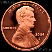 2004-S Lincoln Memorial Penny Lincoln Cent Gem PROOF RED Penny