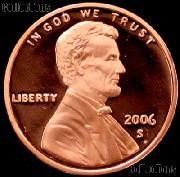 2006-S Lincoln Memorial Penny Lincoln Cent Gem PROOF RED Penny
