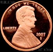 2007-S Lincoln Memorial Penny Lincoln Cent Gem PROOF RED Penny