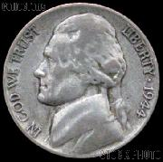 1944-S Jefferson Silver War Nickel Circulated G-4 or Better
