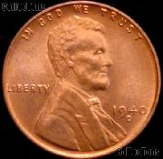 1940-D Lincoln Wheat Cent GEM BU RED Penny for Album