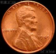 1949 Lincoln Wheat Cent GEM BU RED Penny for Album