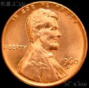 1960-D Large Date Lincoln Memorial Cent GEM BU RED