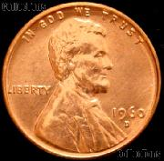 1960-D Small Date Lincoln Memorial Cent GEM BU RED