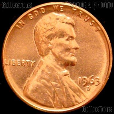 1963-D  LINCOLN MEMORIAL CENT #16