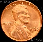 1966 Lincoln Memorial Cent GEM BU RED Penny