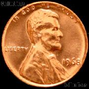 1968 Lincoln Memorial Cent GEM BU RED Penny