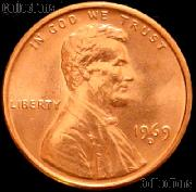1969-D Lincoln Memorial Cent GEM BU RED Penny
