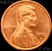 1972-D Lincoln Memorial Cent GEM BU RED Penny