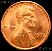 1973 Lincoln Memorial Cent GEM BU RED Penny