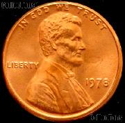 1978 Lincoln Memorial Cent GEM BU RED Penny