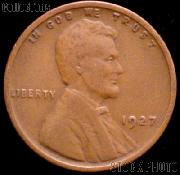 1927 Wheat Penny Lincoln Wheat Cent Circulated G-4 or Better