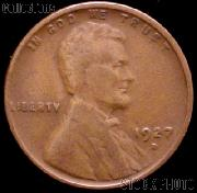 1927-D Wheat Penny Lincoln Wheat Cent Circulated G-4 or Better