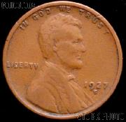 1927-S Wheat Penny Lincoln Wheat Cent Circulated G-4 or Better