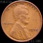 1928 Wheat Penny Lincoln Wheat Cent Circulated G-4 or Better