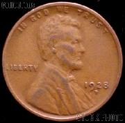 1928-D Wheat Penny Lincoln Wheat Cent Circulated G-4 or Better