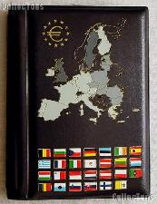 Coin Wallet for Euro Mint Sets by Lighthouse (POCKETEURO)