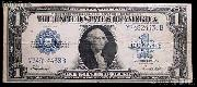 One Dollar Bill Silver Certificate Large Size Series 1923 US Currency Good or Better