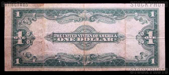 One Dollar Bill Silver Certificate Large Size Series 1923 US ...