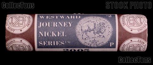 "2005 P&D Westward Journey ""Bison"" Nickel US Mint Wrapped Rolls"