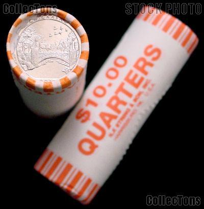 2011 P & D Oklahoma Chickasaw National Park Quarter Bank Wrapped Rolls 80 Coins GEM BU