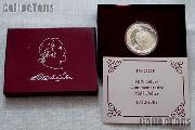 1982-S George Washington 250th Anniversary of Birth Commemorative Proof Silver Half Dollar