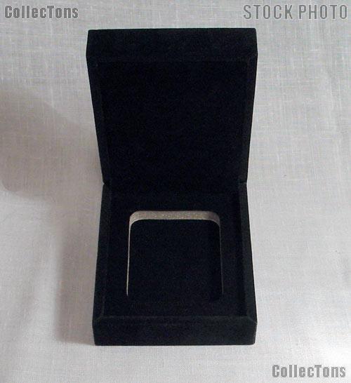 Velvet Coin Display Box for 1 Certified Slab Coin