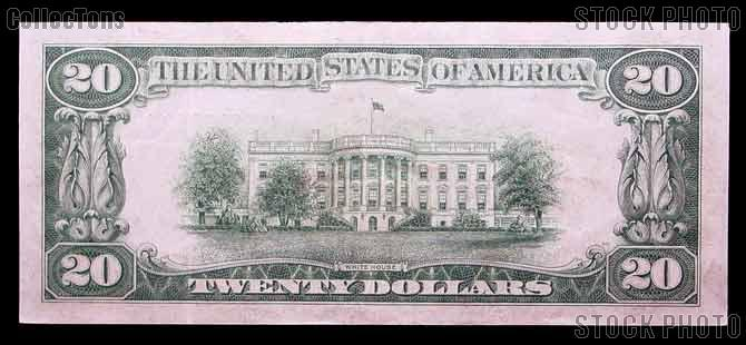 Twenty Dollar Bill Green Seal FRN Series 1934 US Currency Good or Better