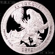2012-S Puerto Rico El Yunque National Park Quarter GEM PROOF America the Beautiful