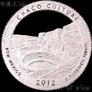 2012-S New Mexico Chaco Culture National Park Quarter GEM SILVER PROOF America the Beautiful