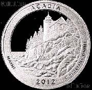 2012-S Maine Acadia National Park Quarter GEM SILVER PROOF America the Beautiful