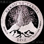 2012-S Hawaii Volcanoes National Park Quarter GEM SILVER PROOF America the Beautiful