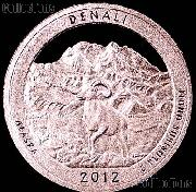2012-S Alaska Denali National Park Quarter GEM SILVER PROOF America the Beautiful
