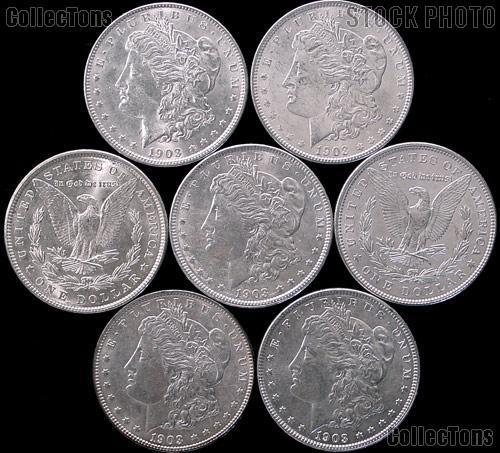 1903 Morgan Silver Dollar in AU+ Condition