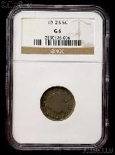 1912-S Liberty Head V Nickel KEY DATE in NGC G 6