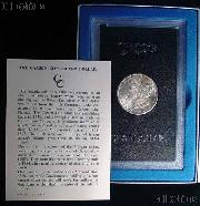 1884-CC Morgan Silver Dollar - BU in GSA Holder