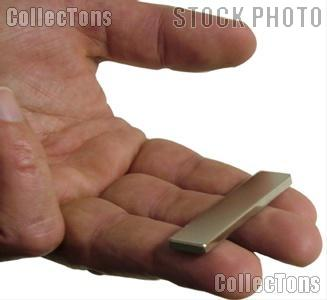 Rare Earth Magnet for Detecting Impurities in Precious Metals, Bar
