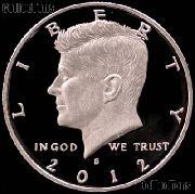2012-S Kennedy Half Dollar * GEM Proof 2012-S Kennedy Proof