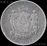 Maine Centennial Silver Commemorative Half Dollar (1920) in XF+ Condition