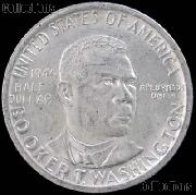 Booker T. Washington Memorial Silver Commemorative Half Dollar (1946-1951) in XF+ Condition