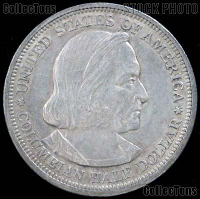 World's Columbian Exposition Silver Commemorative Half Dollar (1892-1893) in XF+ Condition