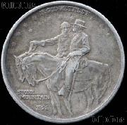 Stone Mountain Memorial Silver Commemorative Half Dollar (1925) in XF+ Condition