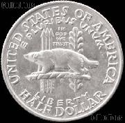 Wisconsin Territorial Centennial Silver Commemorative Half Dollar (1936) in XF+ Condition