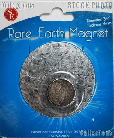 Rare Earth Magnet for Detecting Impurities in Precious Metals, 12 lbs