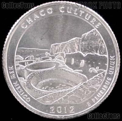 2012-D New Mexico Chaco Culture National Park Quarter GEM BU America the Beautiful