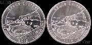2012 P & D New Mexico Chaco Culture National Park Quarters GEM BU America the Beautiful