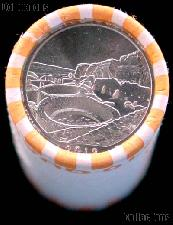 2012-P New Mexico Chaco Culture National Park Quarters Bank Wrapped Roll 40 Coins GEM BU